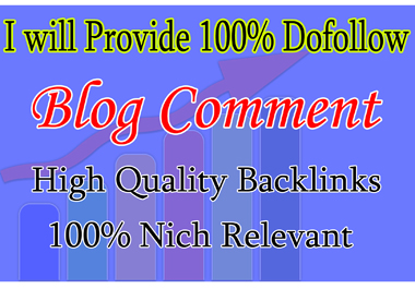 Provide 30+ Dofollow BLOG COMMENT High Quality Backlink