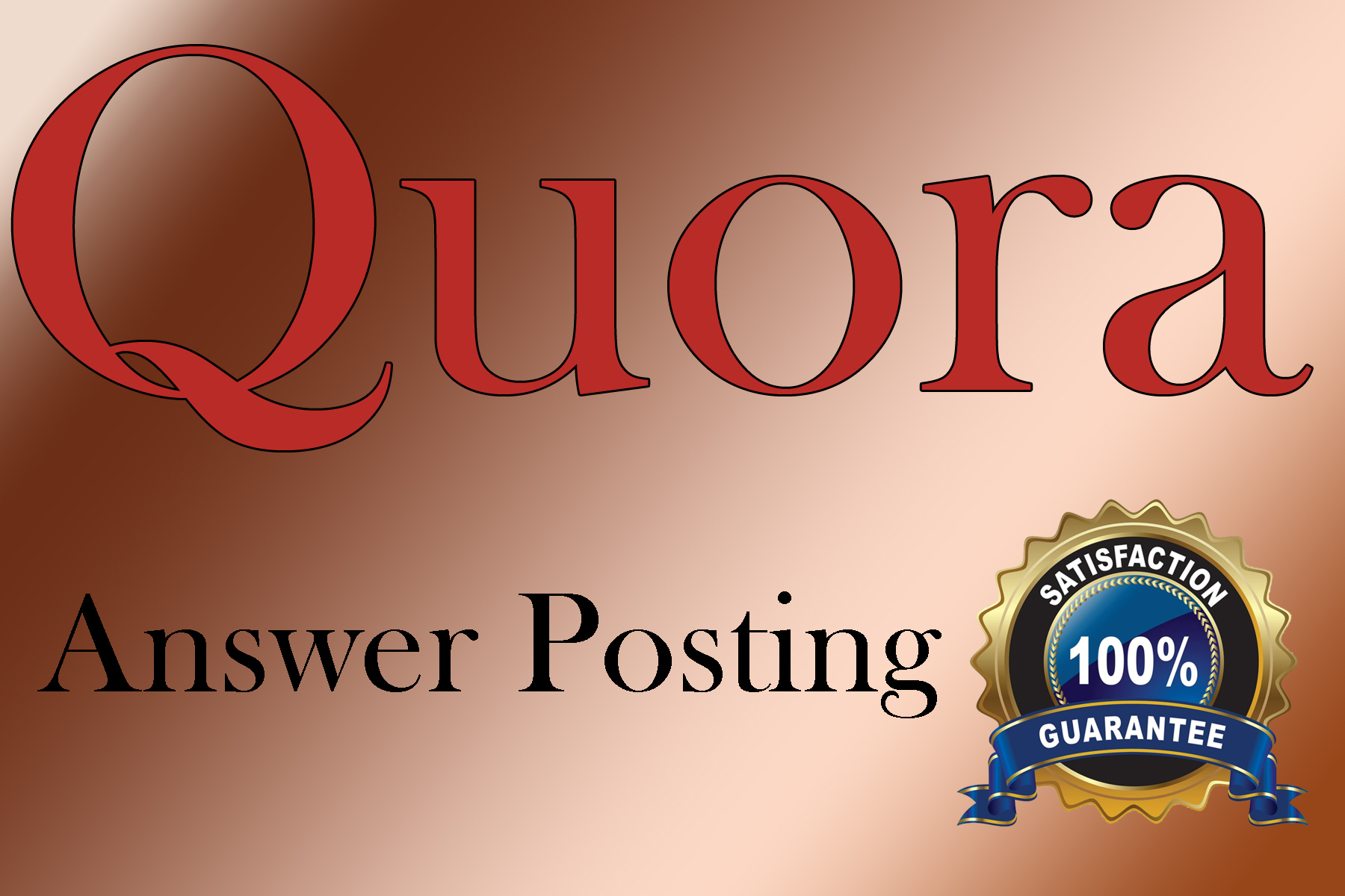 Guaranteed Targeted Traffic with 10 Quora answers in your web site