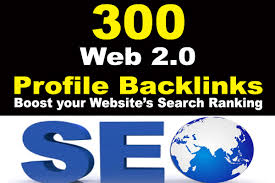 300 Web 2.0 Top Quality Backlinks