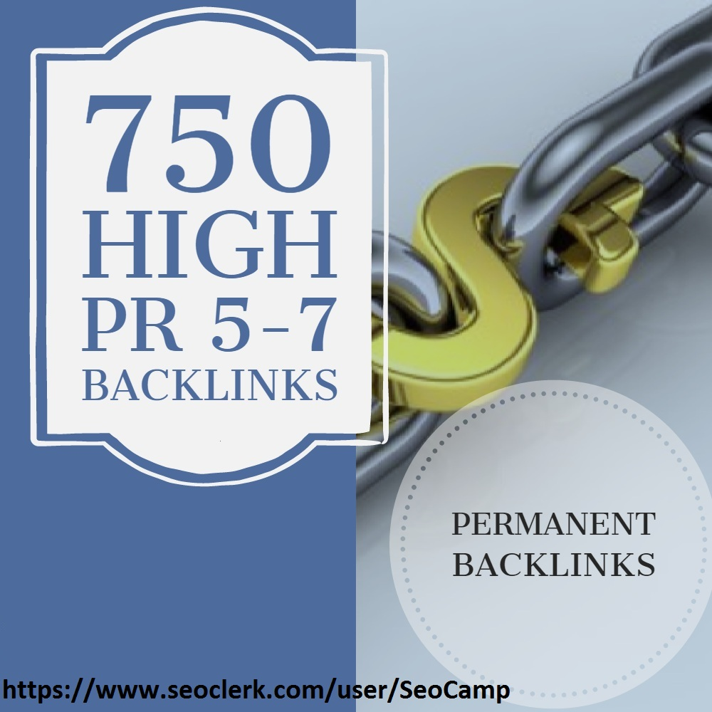 I will 750 manually backlinks blog comments