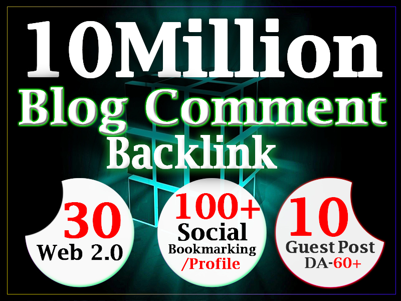 get 10 million dofollow blog comment backlink for ranking using gsa ser