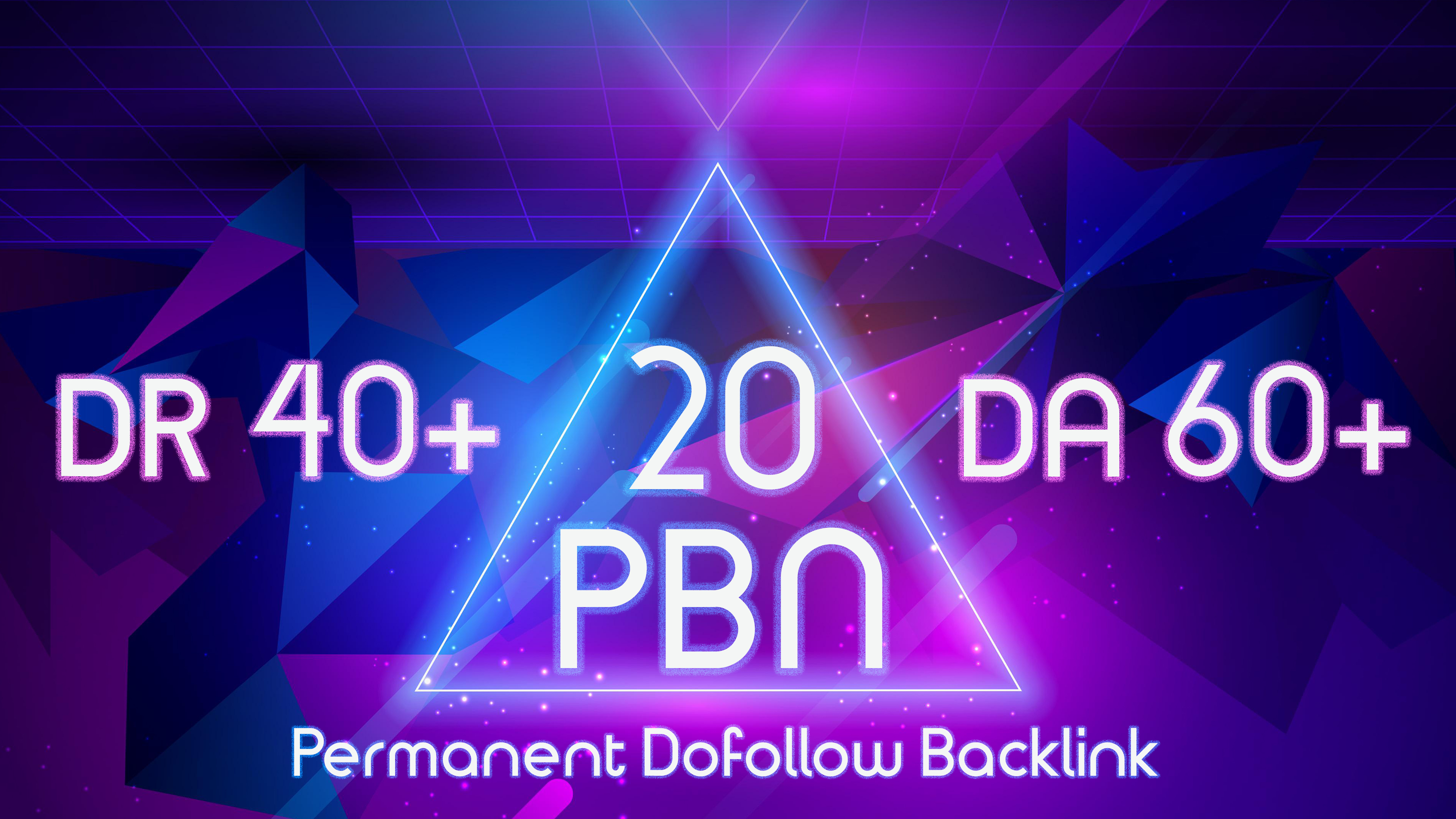 Get 20 PBNs DA-60+ DR-40+ Permanent Post Do-follow Contextual Backlink