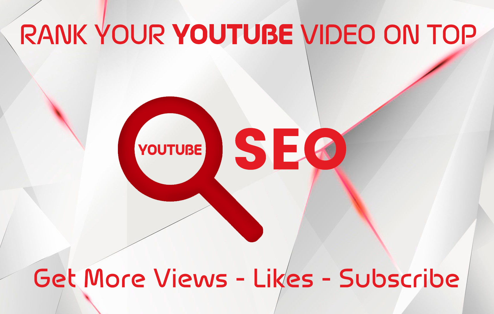 I Will Optimize And Rank Your Youtube Video