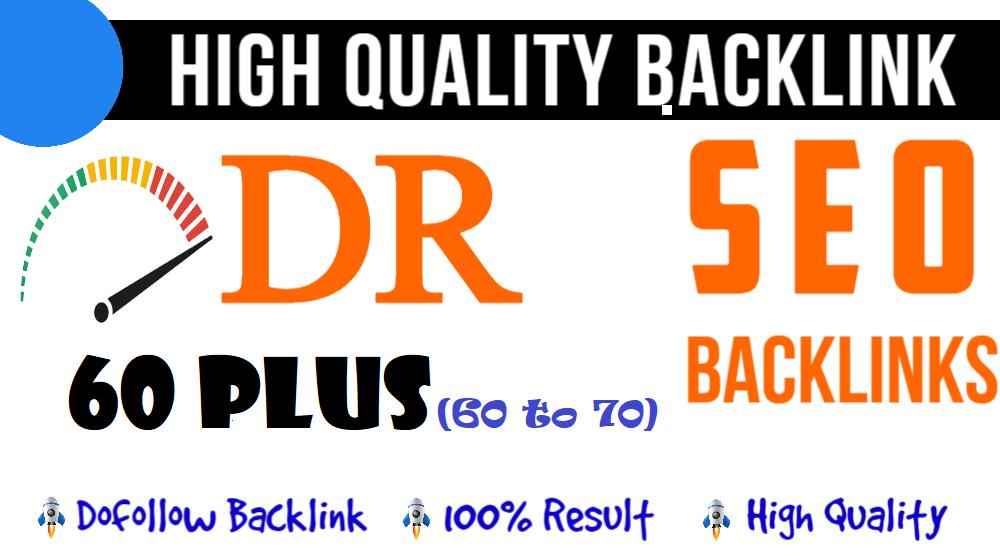 Build 10 High Quality DR 60 Plus DA TF Authority Homepage SEO PBN Backlinks