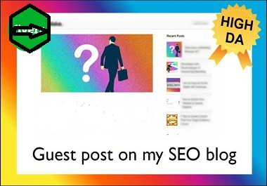 Publish 3 Guest Posts on High Authority Backlinks For Your Boost Ranking
