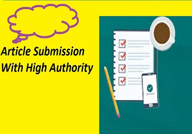 Provide 30 Article Submission Backlinks With High Quality DA,PA