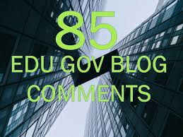 85 Blog Comments High DA/PA,  EDU/GOV,  Backlinks Google Ranking website
