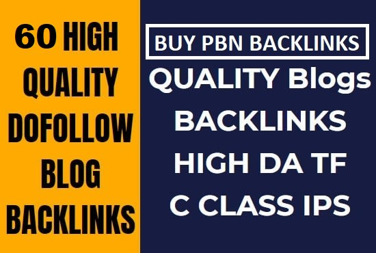 I will provide 60 high trust flow TF 20+ dofollow backlinks