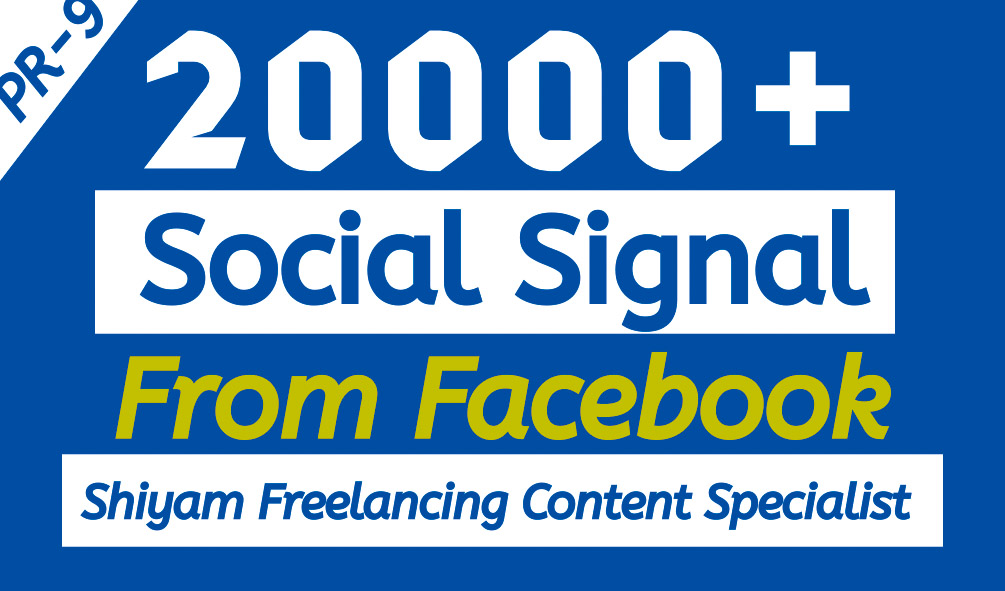Social Signals - Share Your Website Over The Social Media Networks