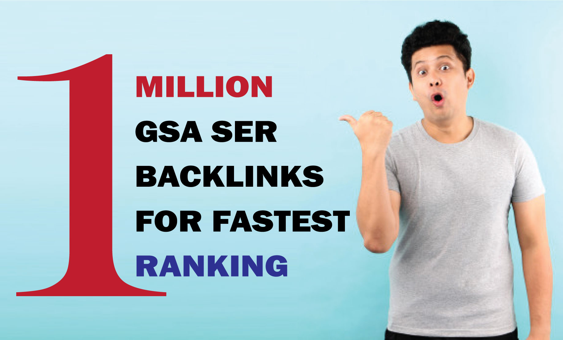 1 million GSA SER Backlinks easy Link Juice & Faster Index