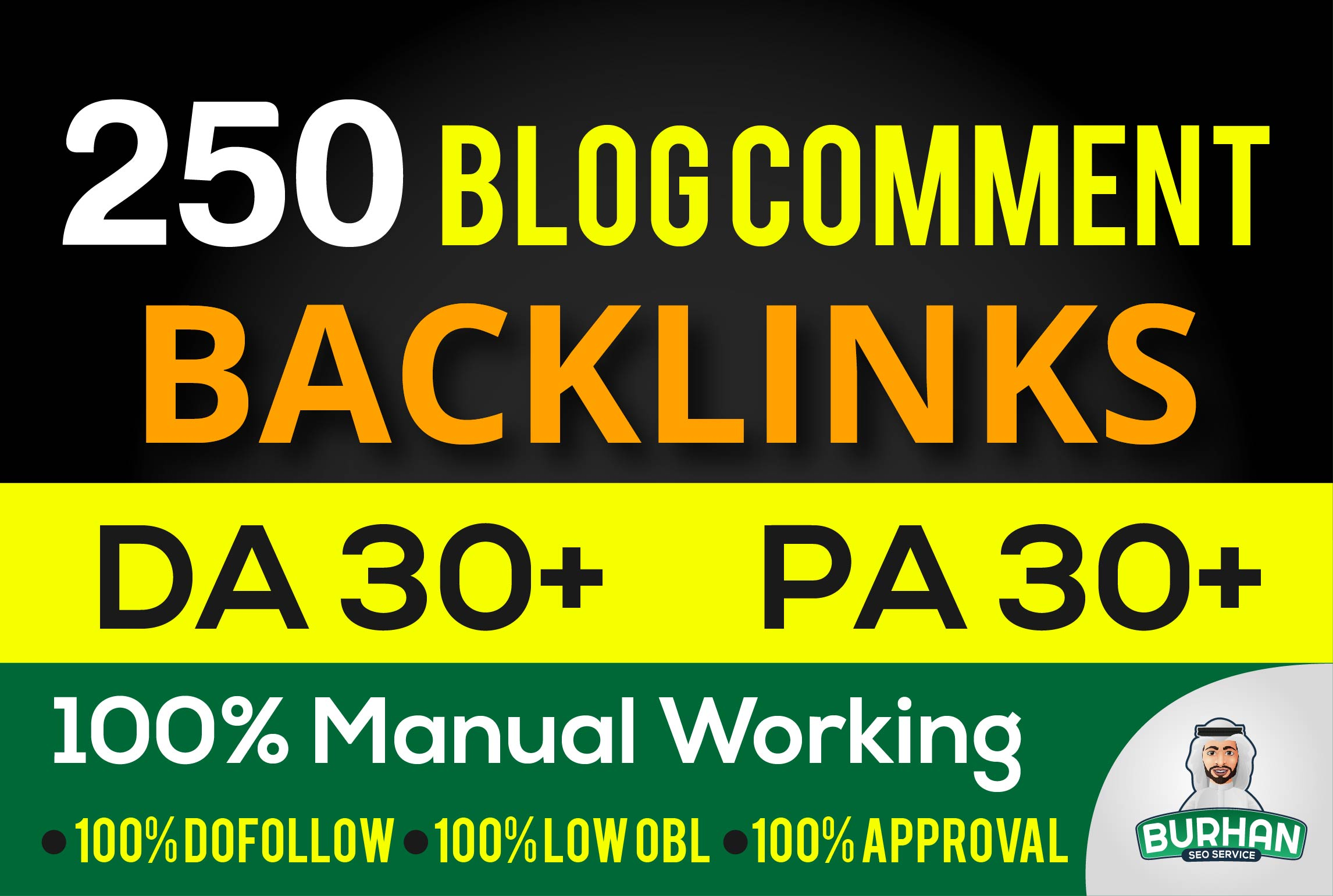 create 250 dofollow blog comment quality backlinks