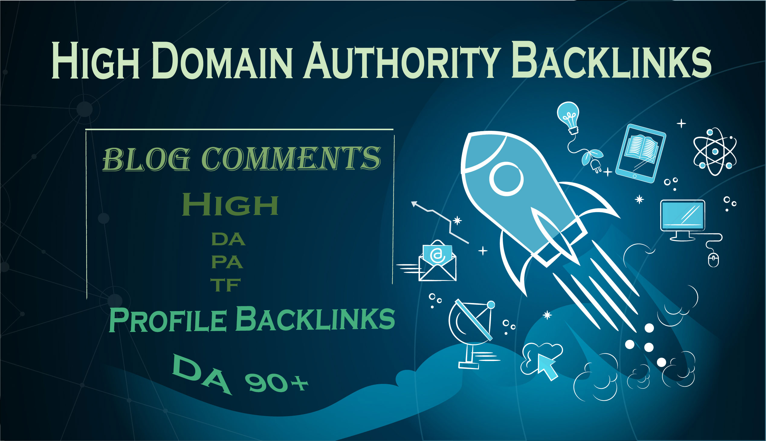 I will Build 1800 High Quality Blog Comments AND 12 Profile Backlinks DA 90+ For Google Top Rankings