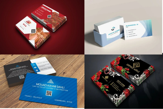 I will design a professional stunning and beautiful business card