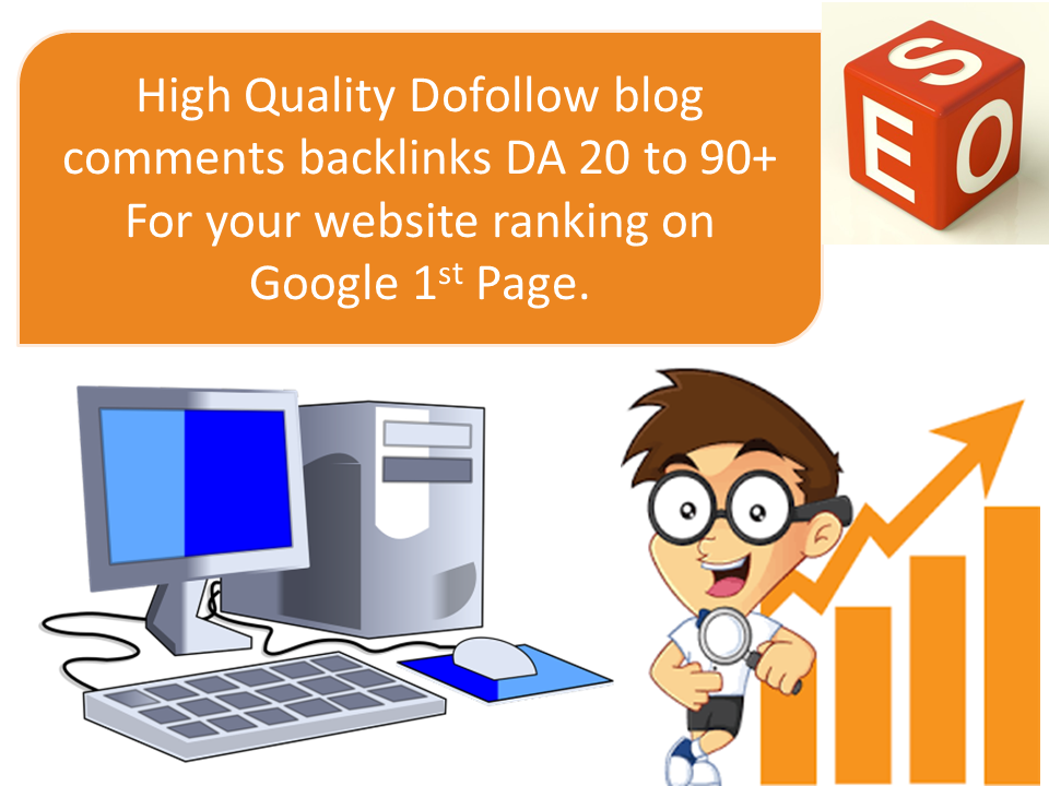 i will create 1000 SEO dofollow backlinks blog comments manually