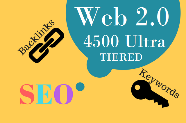 I will build 4500 ultra SEO contextual dofollow authority backlinks