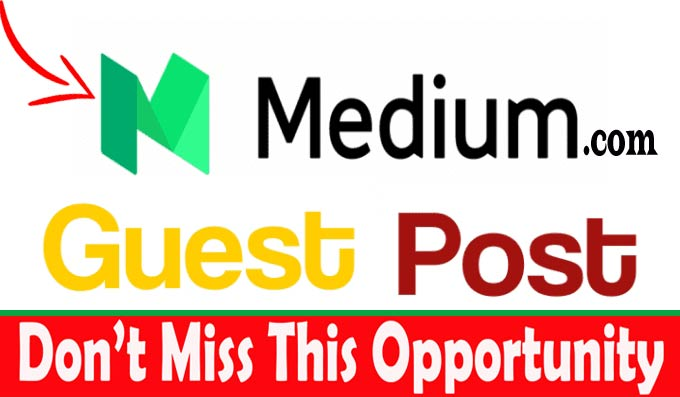Get Unique Guest Post Articles and Publish on Medium Site DA 95 PA 80