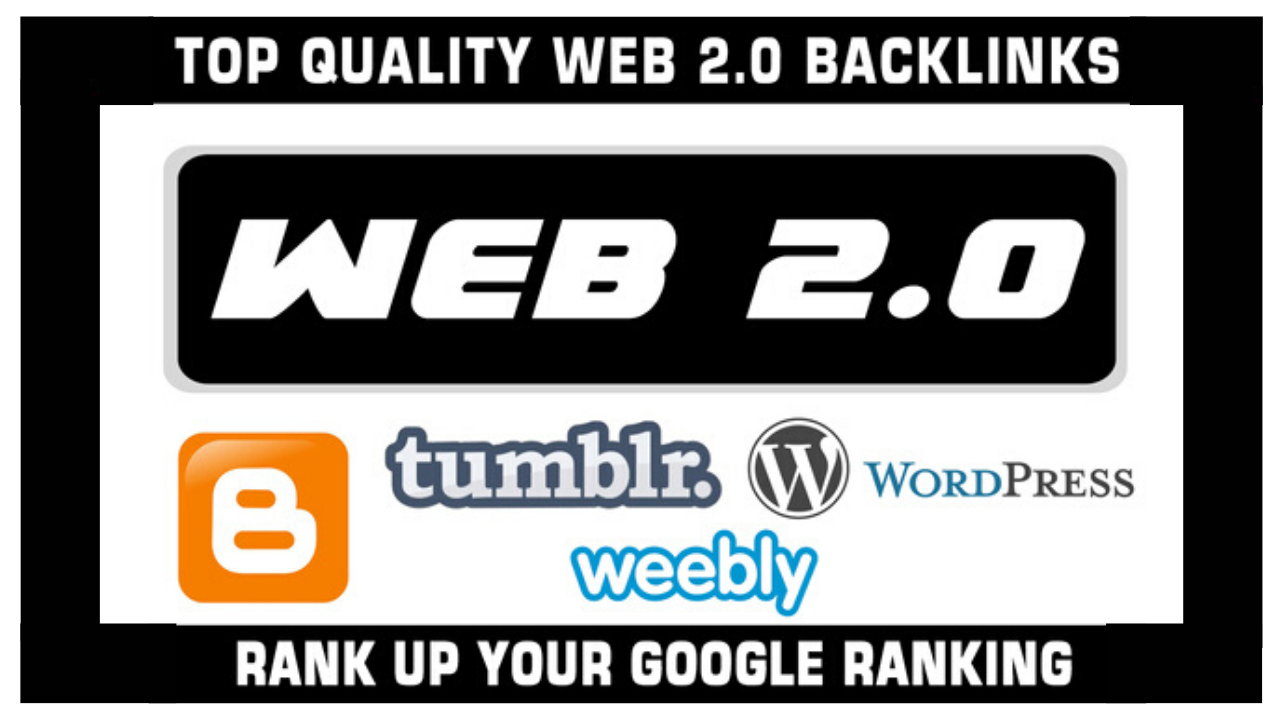 Boost Search Rankings With 20 High Authority Web 2.0 Blog Properties with Log in