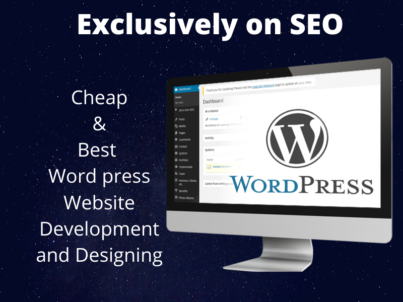 I will create wordpress website or redesign word press website
