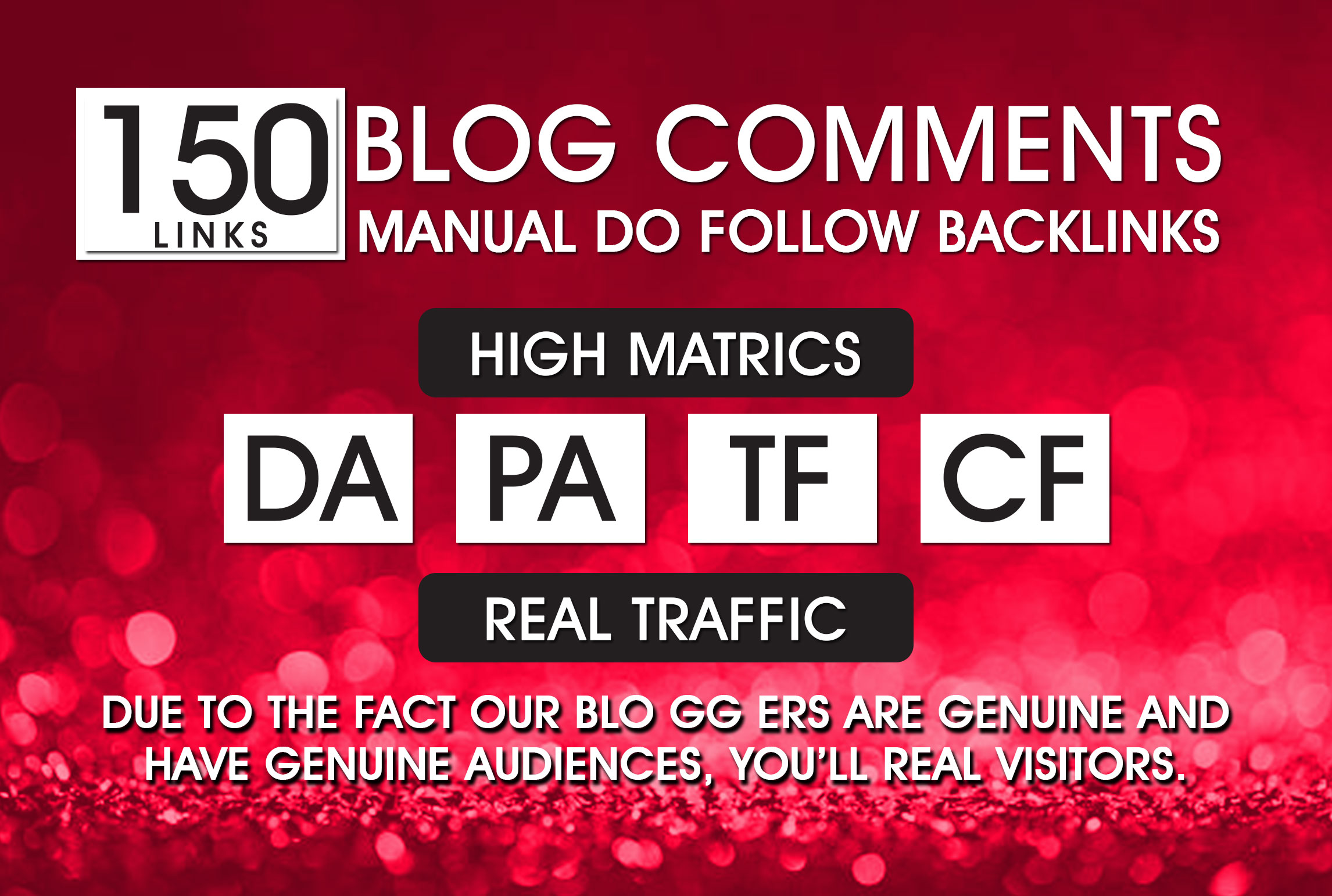 150 Blog Commenting Dofollow Backlinks High DA PA google Rank Website Traffic Low Obl