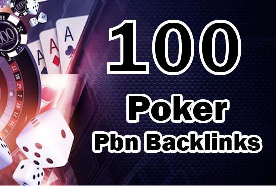300 PBN -JUDI BOLA -CASINO -POKER LINKS BOOST YOUR SITE