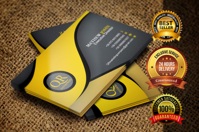 I will design business card with multiple concepts
