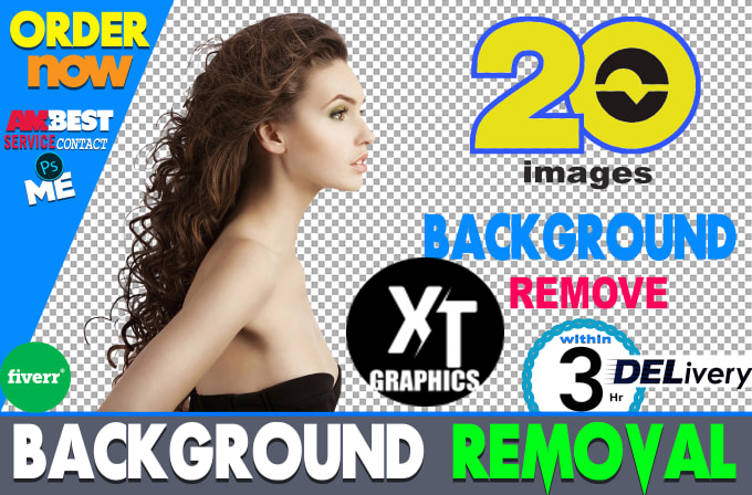 I will remove background from 20 images in 3 hr quickly delivery UNLIMITED REVISIONS
