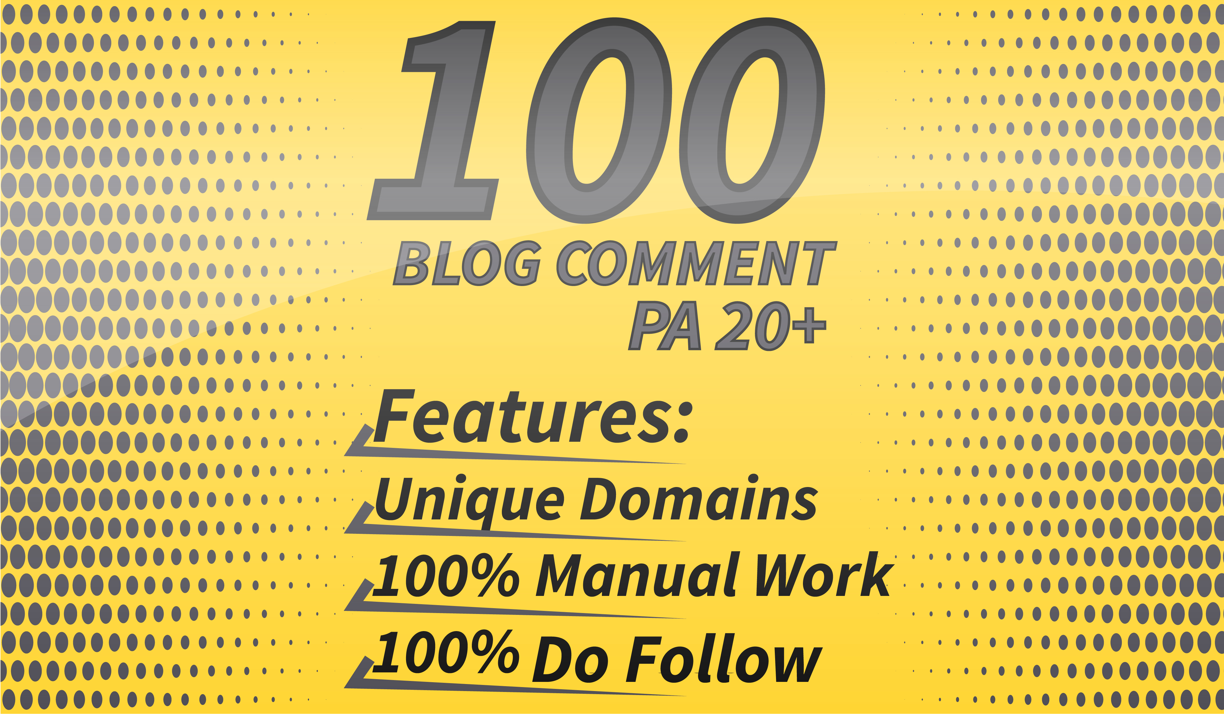 100 DA 90-60+ & PA 20+ Manually Submit Actual Page Blog Comments