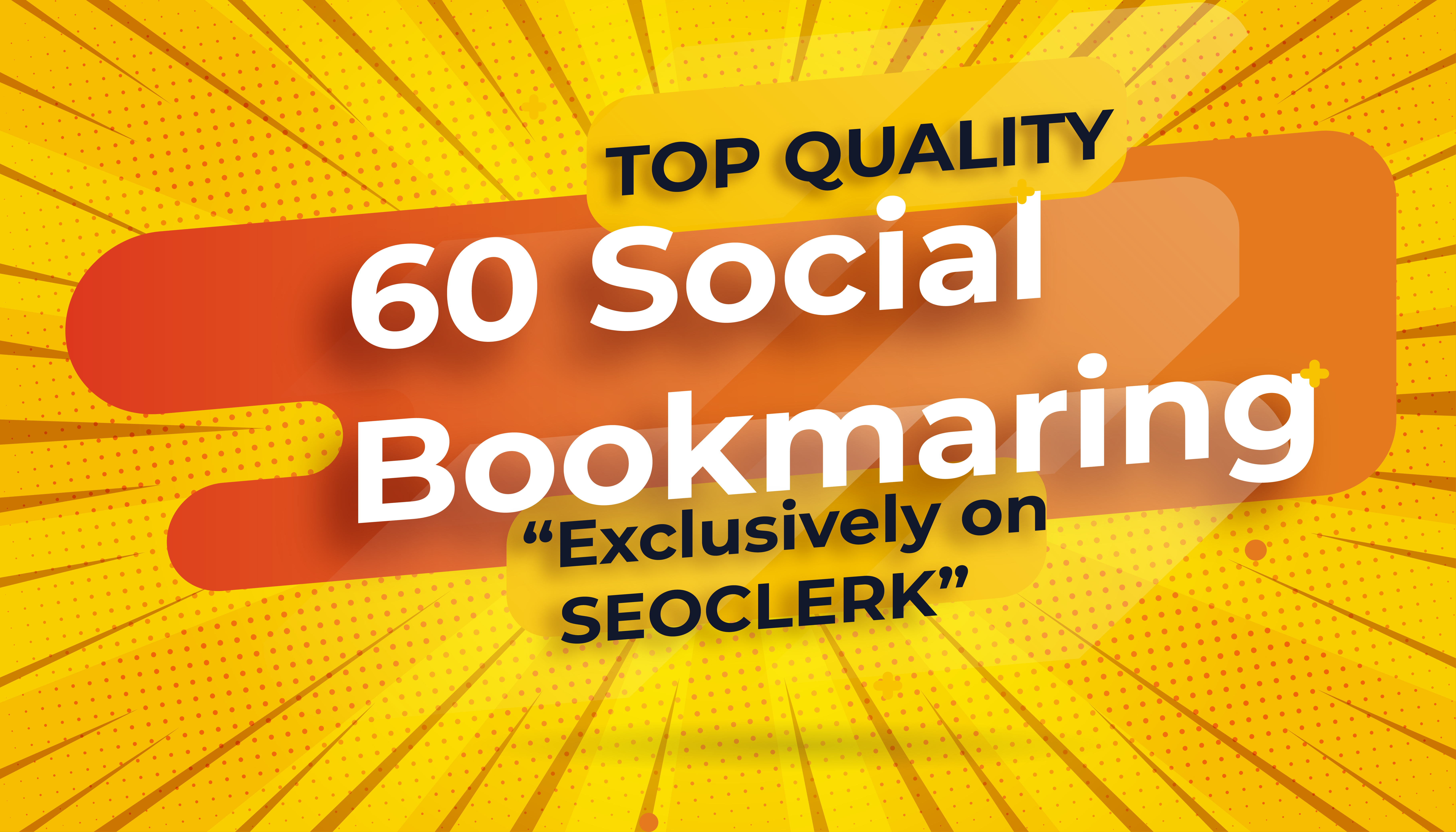 BLACK FRIDAY BEAST SALE Top Quality 60 Social Bookmarks Manually & Naturally