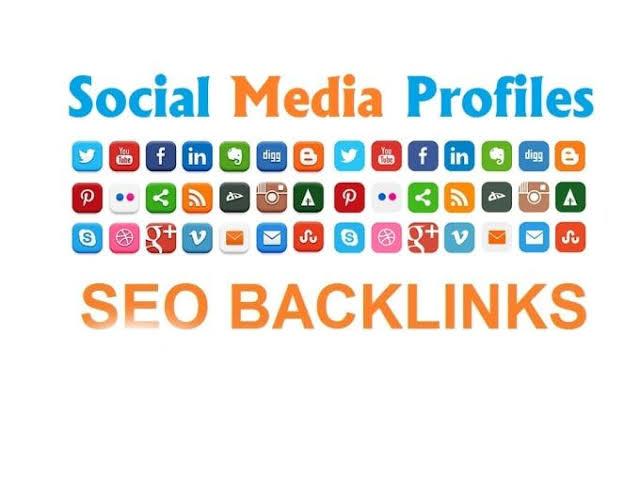 I will Give you 1000 Social Media Profile Backlinks