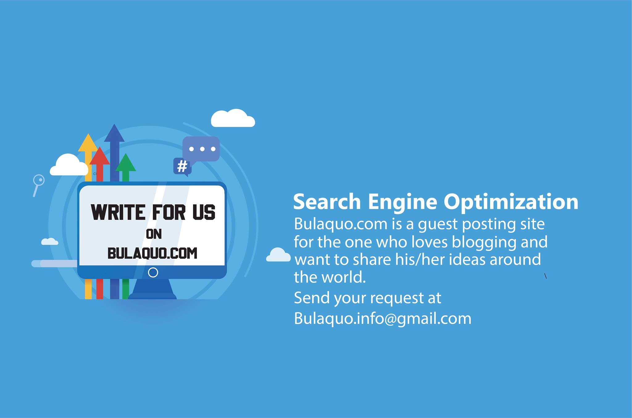publish your article on my high DA Site Bulaquo dot com for guest posting