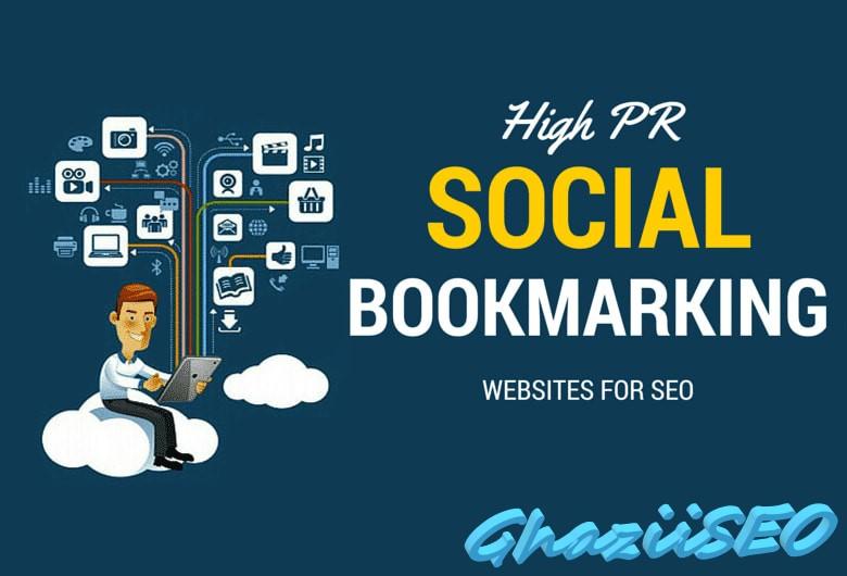 I will do 30 social bookmarking backlinks for your website