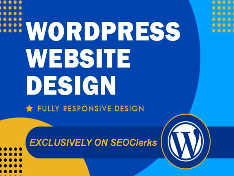 I will create a responsive wordpress website design for you