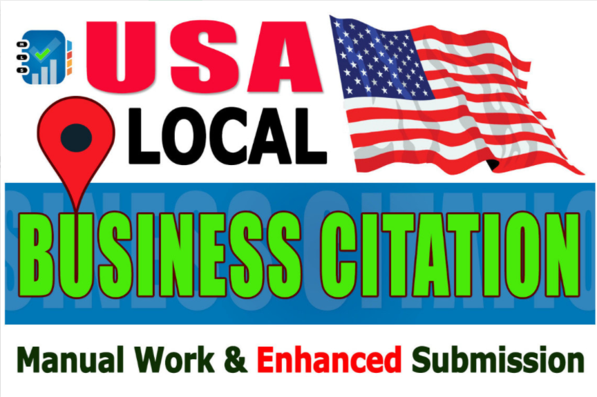 i will do local citations & directory submission for your business in USA local seo manualy