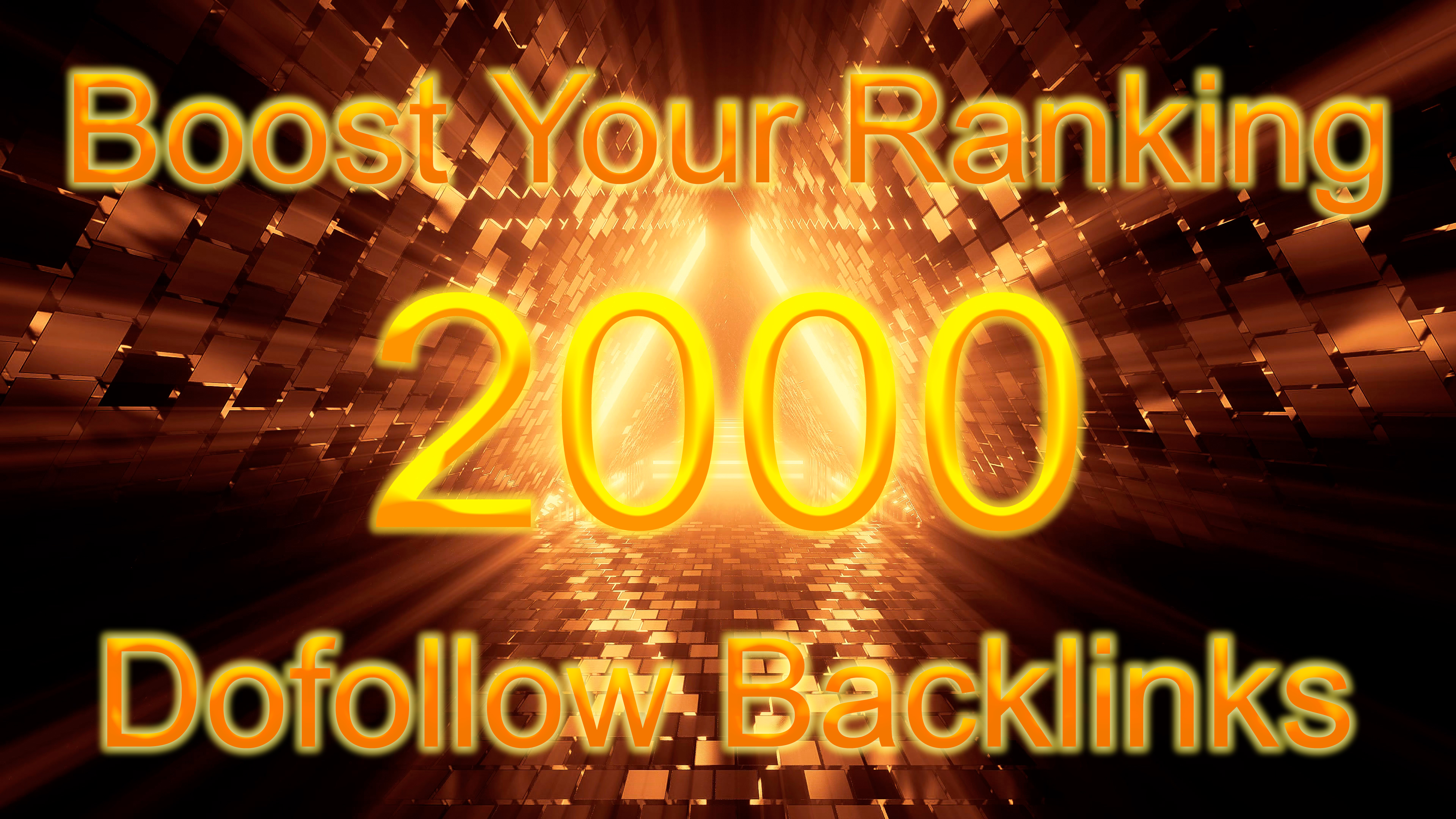 Boost your ranking with my 2000 Dofollow Backlinks With high DA/PA