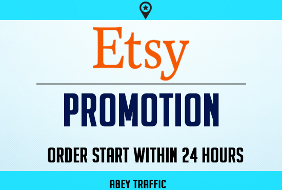 Etsy store marketing promotion USA web traffic for 30 Days