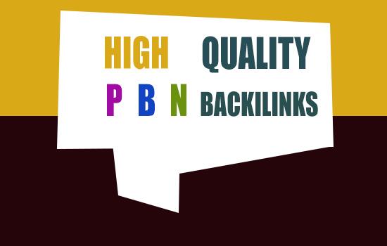 5 High quality Speed SEO PBN Backlinks