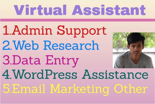 your virtual assistant for 24 hr