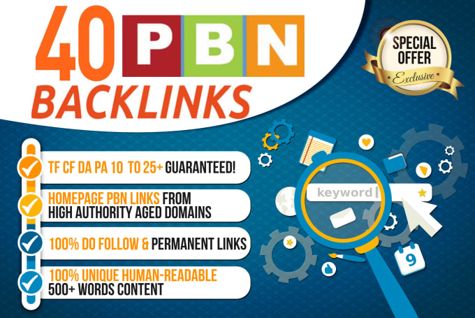 I will skyrocket your google ranking by authority web 2.0 PBN backlinks