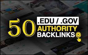 I will do 25 EDU and 25 GOV High-Quality backlinks