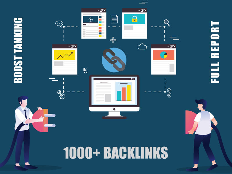 1000+ Permanent Authority Backlinks to Boost SEO Rankings