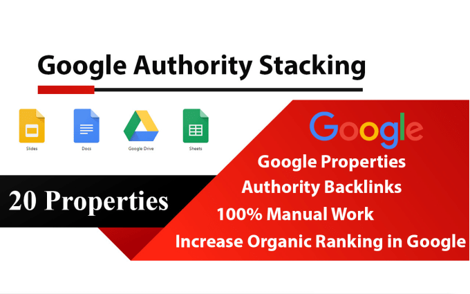 I will do google entity stacking permanent contextual links