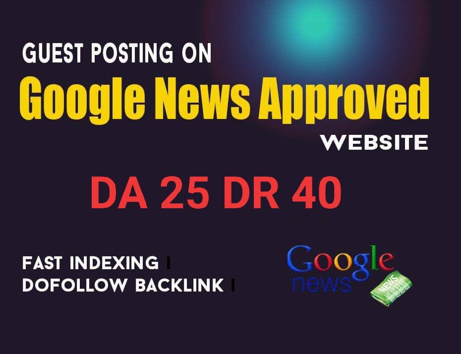 I wii do guest post on my google news approved site