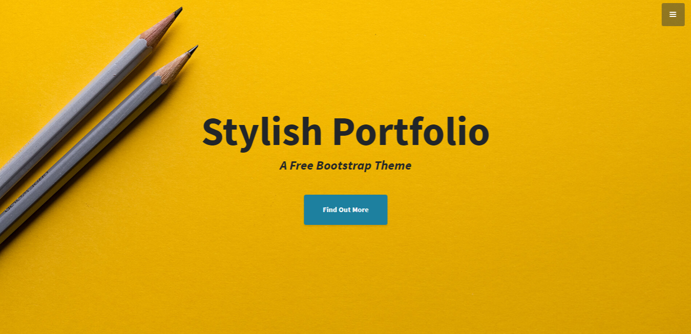 Classic Stylish Portfolio for you business or newly invented software or library documentation