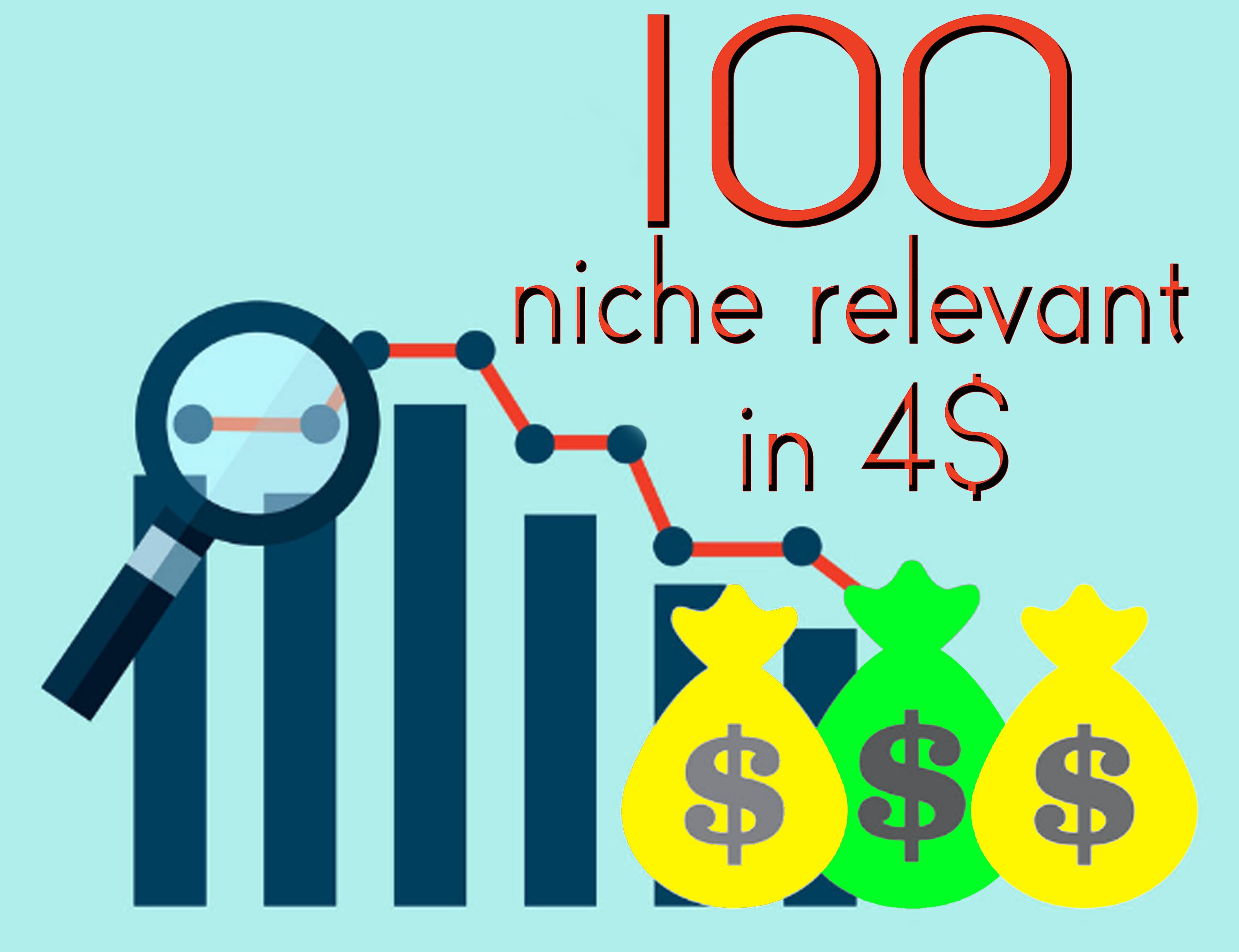 I will do 100 niche relevant blog comment backlinks