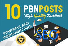 I will do 10 PBN Unique dofollow PBN homepage parmanent High DA PA backlinks