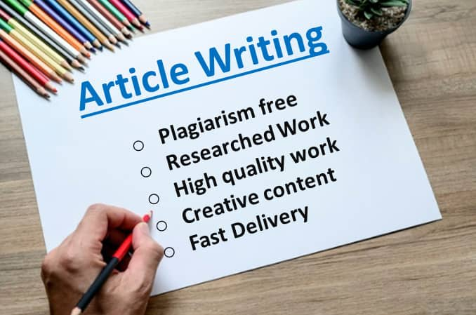 I will best writing 6x1500 words premium article writing or content writing for any topic for 85