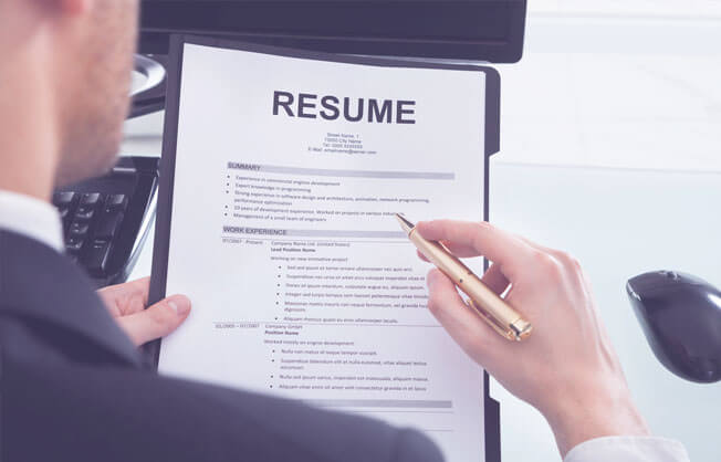 provide professional resume writing services