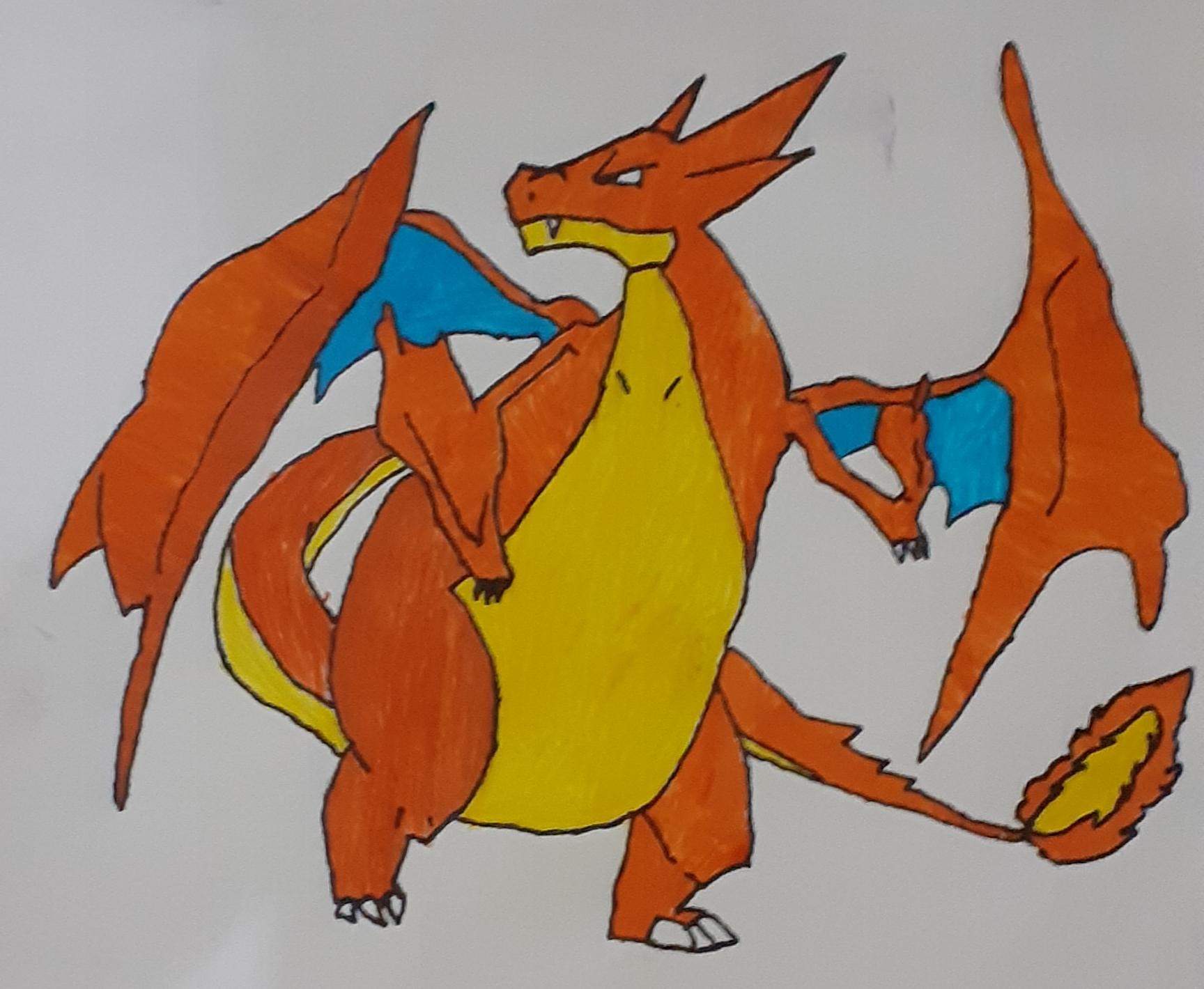 I will draw any cartoon characters.