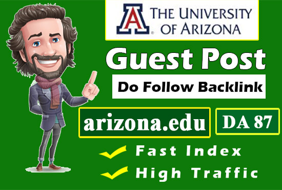 Write and Publish Guest Post on education website with df backlink da87