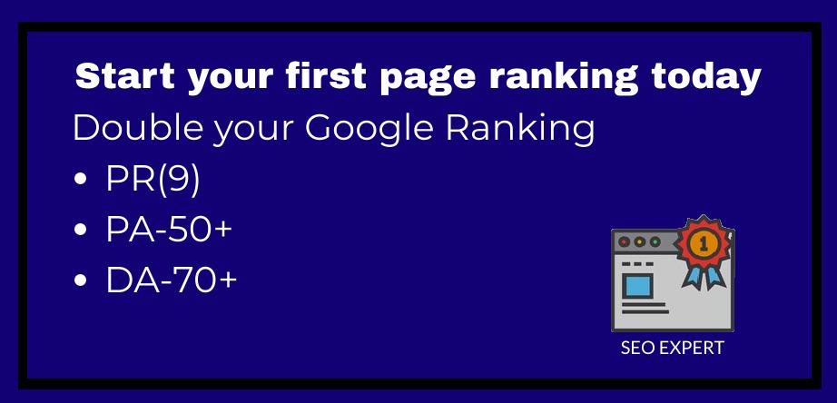 google rank with pr9 da70 seo dofollow 1 backlinks